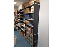 Metal Shelf rack unit for warehouse shop storage garage. Delivery.