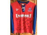 Signed Gillingham F.C Centenary Shirt