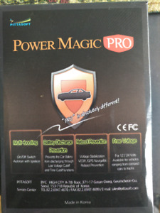 Power magic pro for dashcam. Left in box never used - $20