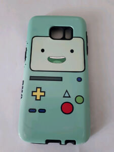 Various android phones and cases