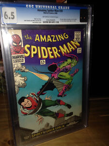 Amazing Spider-Man 39 CGC Marvel Comics and more lot
