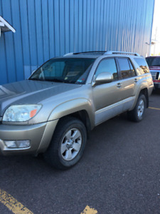 2003 4Runner V8 Limited Fully Loaded Michelins Leather Sunroof