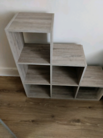 Wooden Shelves Unit