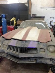 1980 camaro body with a strong 1981 corvette motor and trany