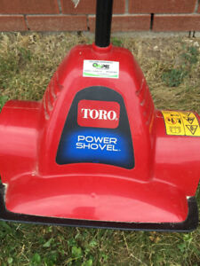 Be Winter Ready! Toro Power Shovel