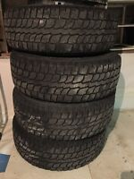 4 16 inch winter tires with steel rims