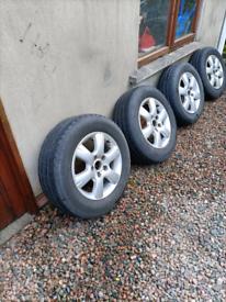 VW transporter alloy wheels 16 inch