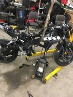 08 cbr1000RR rolling chassis