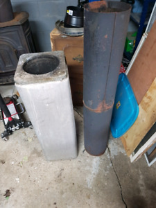 "8 "" double wall insulated chimney"