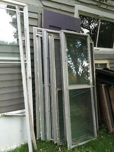 aluminum storm windows