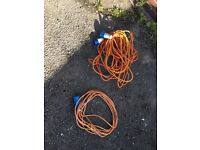 2 electric cable /hook up cable