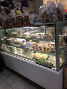 cake display fridge for sale