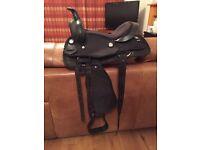 Shetland / small pony western saddle