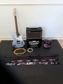 Electric guitar,amp,effects and accessories Joblot