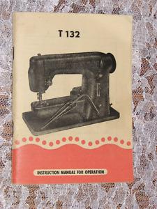 Lada T132 Sewing Machine Manual
