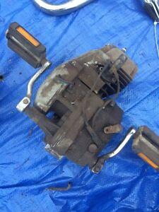 Moto Mineralli Moped Motor Engine