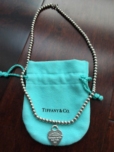 Authentic Return to Tiffany Bead Necklace