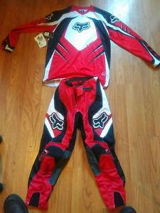 Fox Brand motocross / dirt bike gear