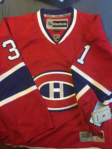 Carey Price Signed Montreal Canadiens Jersey with hologram & COA