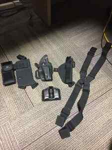 New various holsters and ammo pouch!