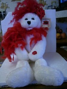 SINGING CHANTILLY LANE MUSICALS RED HAT SOCIETY BEAR