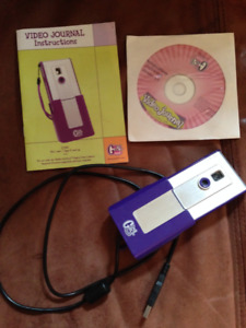 Girl Tech Video Journal camera and software - pristine
