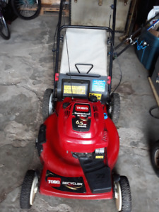 TORO RECYCLER 22 FRONT DRIVE LAWNMOWER