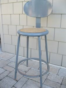 REDUCED - Mid Century Metal Lab Chair
