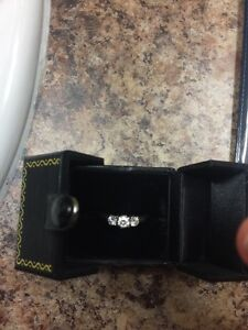 Wedding and Engagement Ring Set for Sale