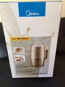 All new !!!! MIDEA Automatic Soy Milk Maker. just only $65!!!