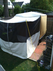Vintage Time Out tent trailer RESTORED!