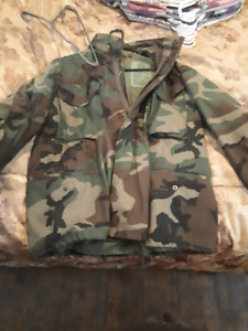 Authentic army jacket