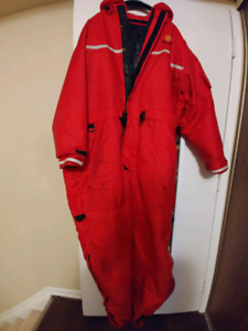 Over exposure floatation suit