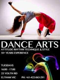 FREE DANCE CLASS TODAY! Eltham Nillumbik Area Preview