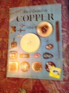 """How to Enamel on COPPER"" vintage book"