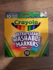 Crayola ColorMax 10 ct markers *NEW!*
