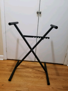 Full size adjustable keyboard stand