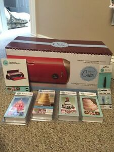 Cricut Cake Machine & Cartridges.
