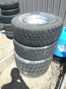 5 bolt rims and tires Chevy/Gmc 1988 - 1998