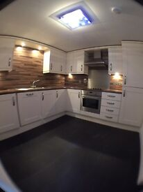 2 x 2 Bed Flats, Portsoy, 1 flat with enclosed garden. No DSS or pets please.