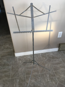 Music stand for sale - Price reduced to $10.00