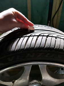 Ventus 205/40/R17  tire practically New OBO