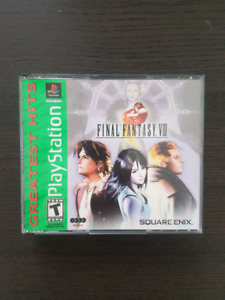 FF8 all disks and manual