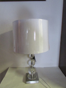 NEW Hometrends crystal ball lamp retro style table vintage style