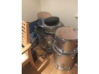 CB drum kit.