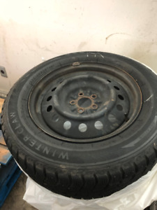 "16"" Winter Tires With Rims"