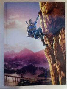Nintendo Switch legend of Zelda limited Edition Hard Cover Guide
