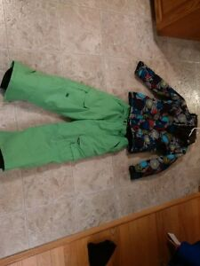 The North Face Girls winter Jacket and snow pants