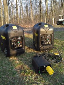 A pair of Powerhouse Generator 2100