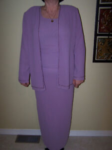 Ladies outfit for special occasions, Dusty Rose, Size 11-12
